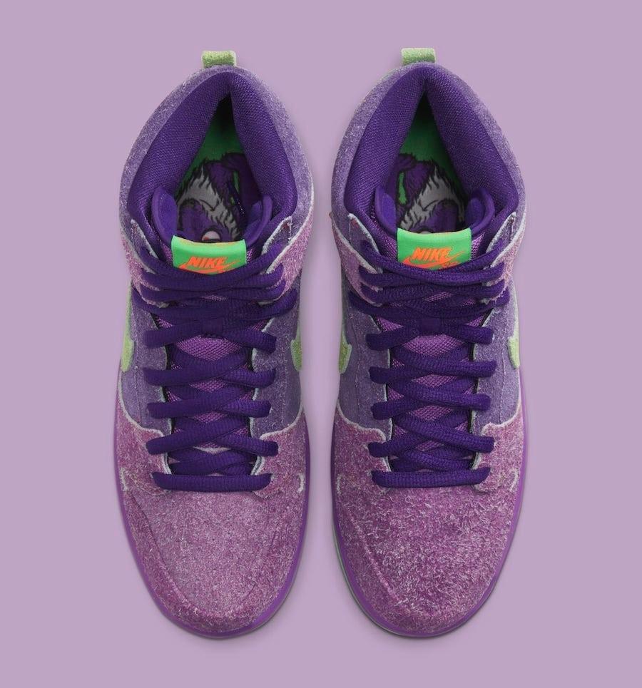 Nike SB Dunk High 420 Purple Haze