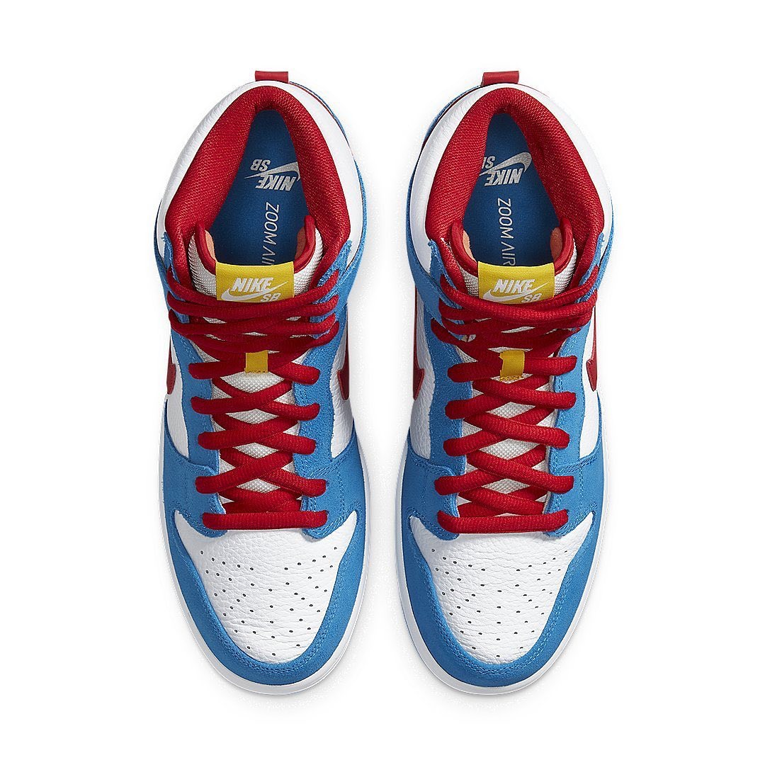 "Nike SB Dunk High ""Light Photo Blue"" Doraemon"