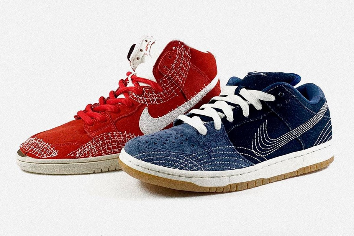"Nike SB Dunk High ""Sashiko"""