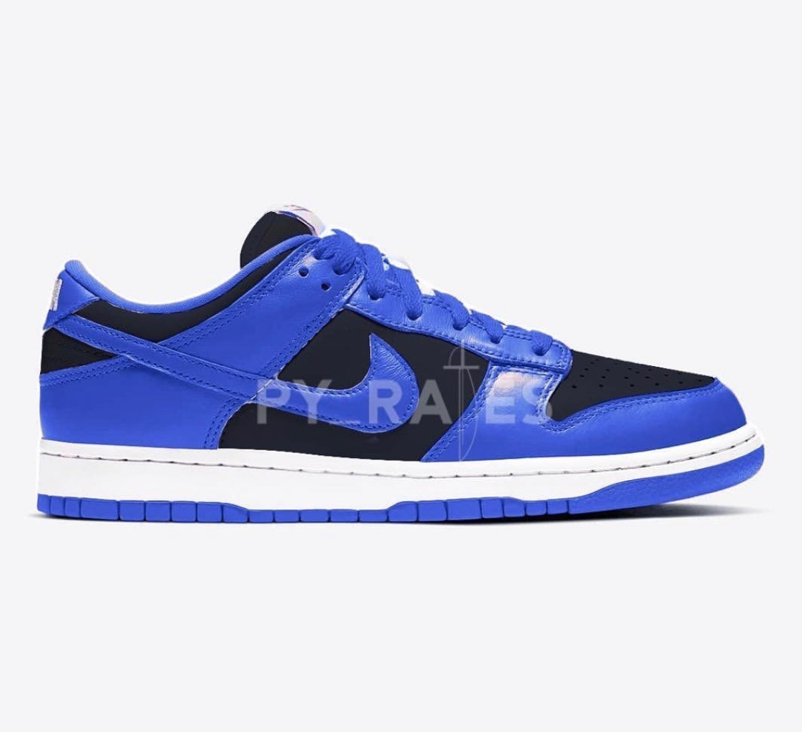 Nike SB Dunk Low Black/Blue