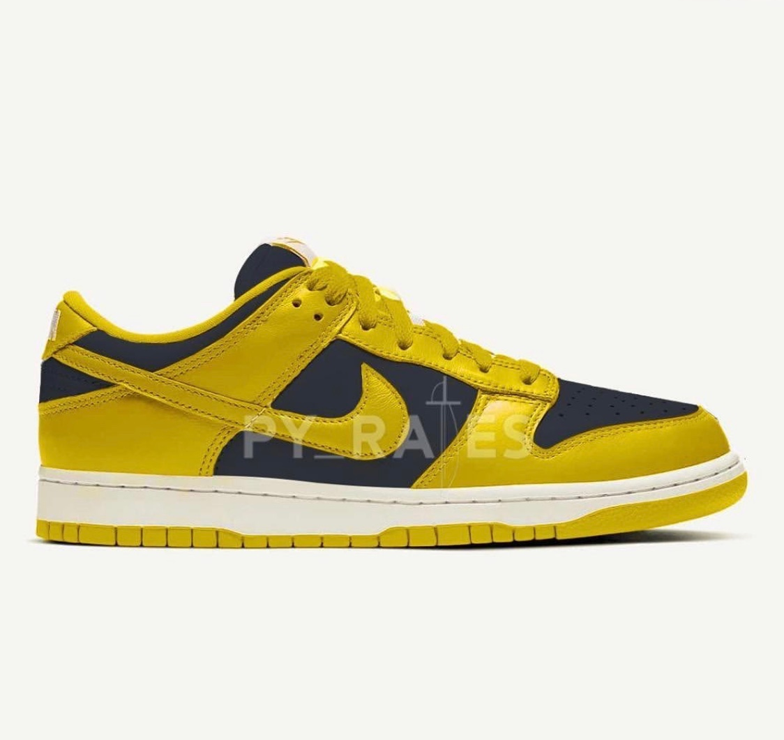 Nike SB Dunk Low Blue/Yellow