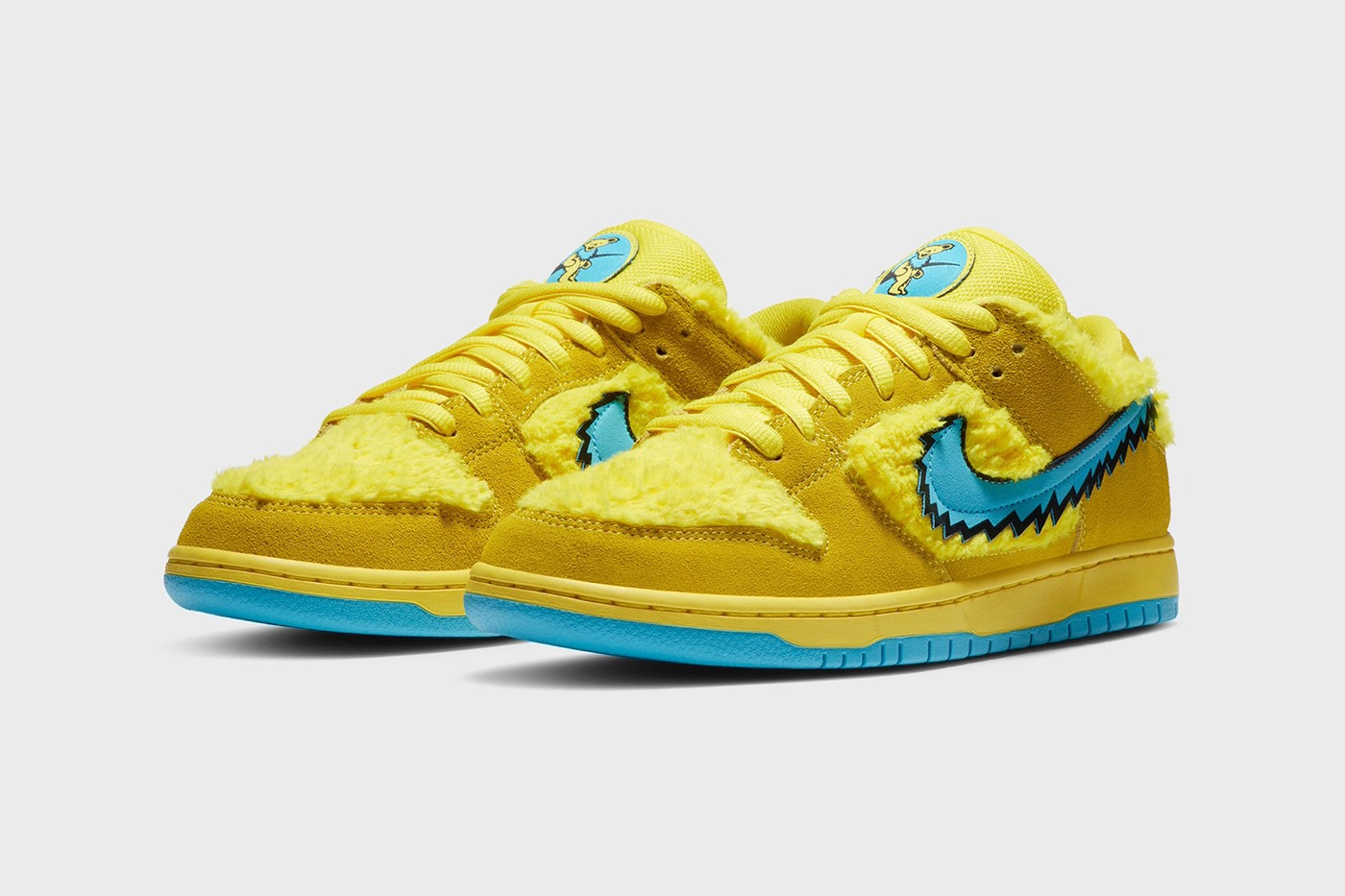 Nike SB Dunk Low Grateful Dead Opti Yellow