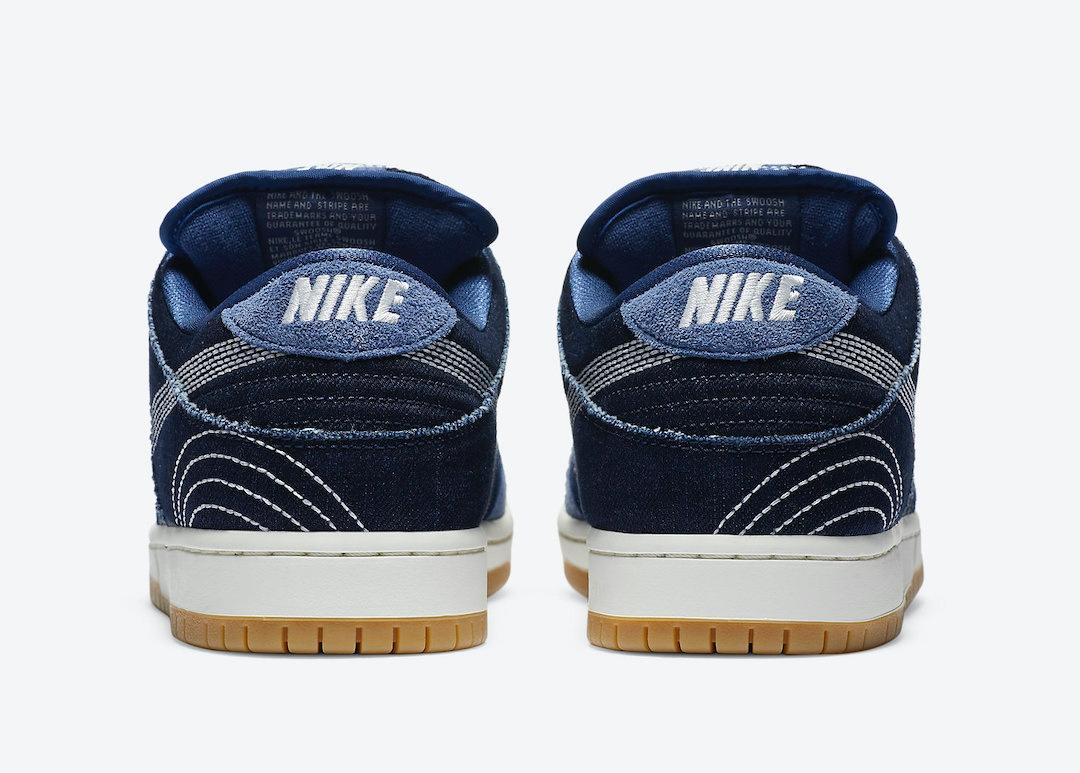 Nike SB Dunk Low Sashiko Denim