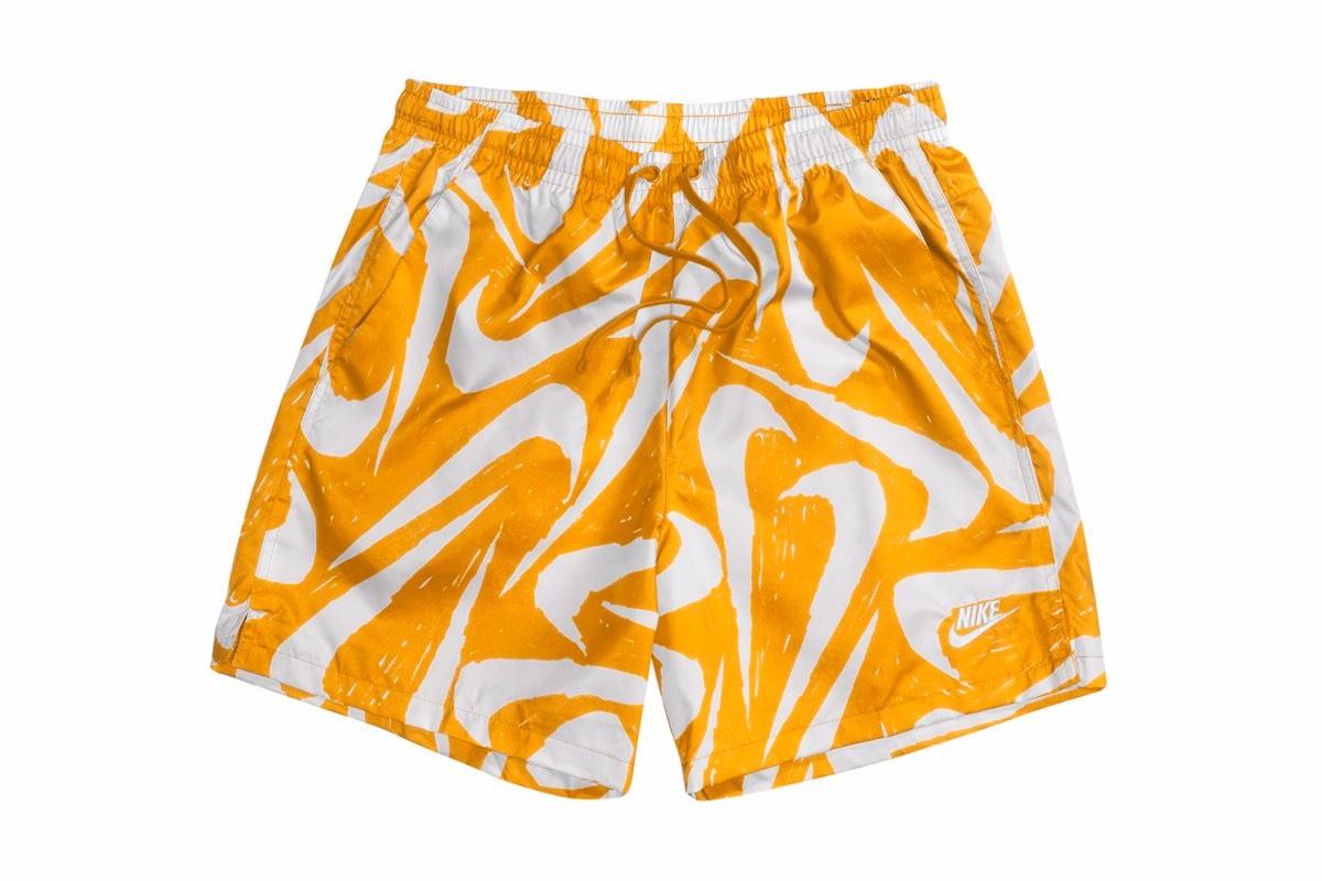 Nike Swimwear Swoosh Man University Yellow