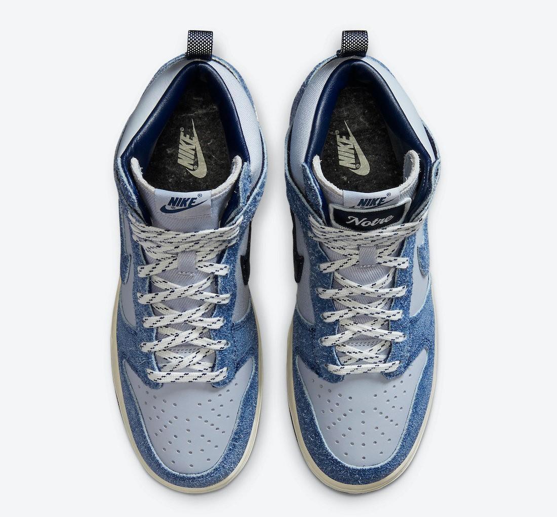 Notre x Nike Dunk High Still Life