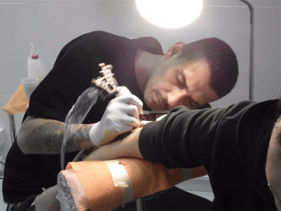 Noyz Narcos Tatuatore
