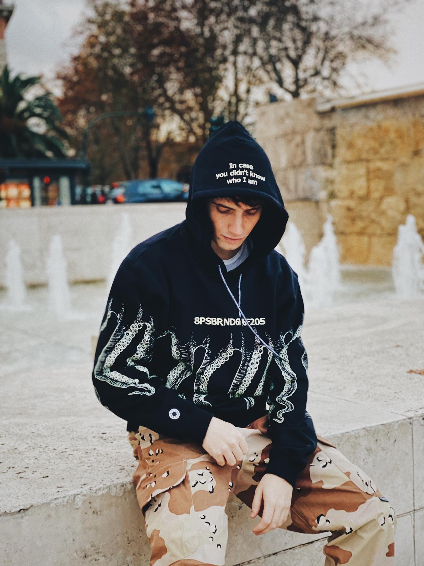 Octopus ICYDKWIA hoodie black