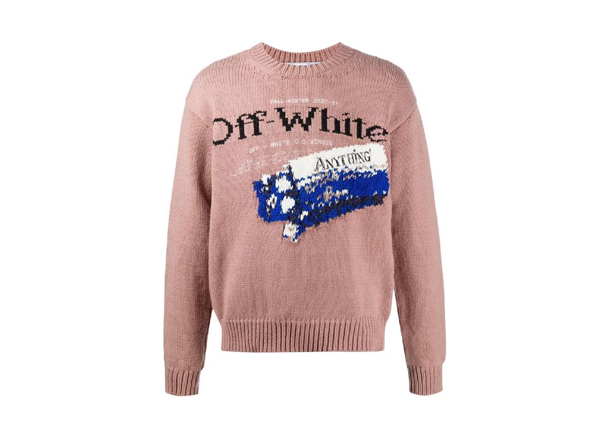 Off-White knitwear earth