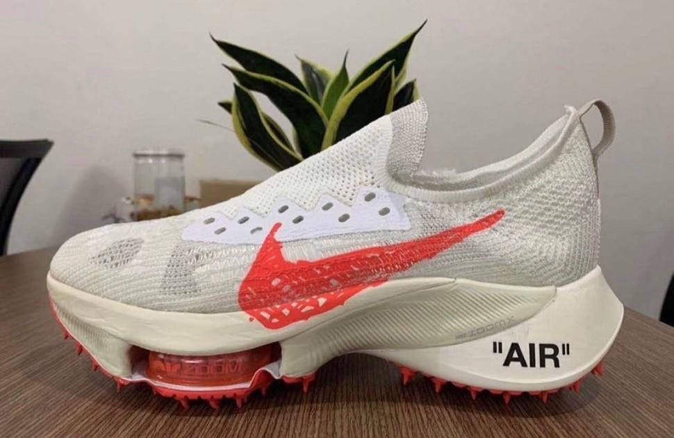 Off-White x Nike Air Zoom Tempo NEXT% white