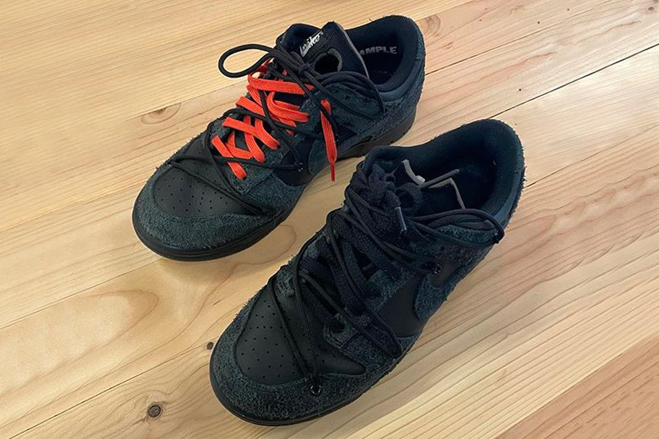"Off-White x Nike Dunk Low ""Black"""