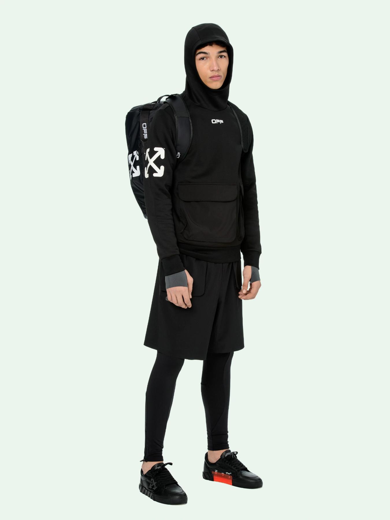 """Off-White collezione sportiva """"OFF-ACTIVE"""" hoodie e zaino"""