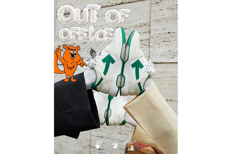 "Off-White ""Out Of Office sneakers campaign"
