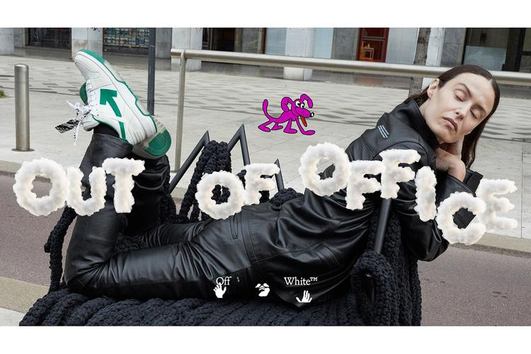 """Off-White """"Out Of Office sneakers campaign"""