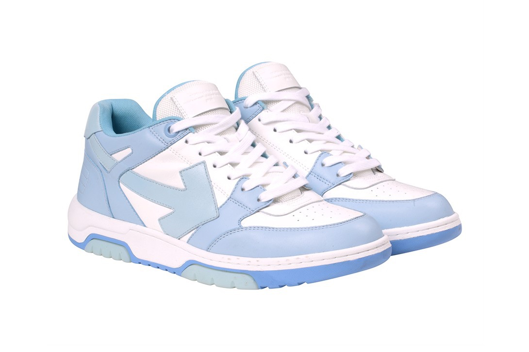 "Off-White ""Out Of Office sneakers blu"