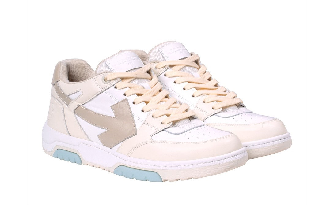 "Off-White ""Out Of Office sneakers cream"