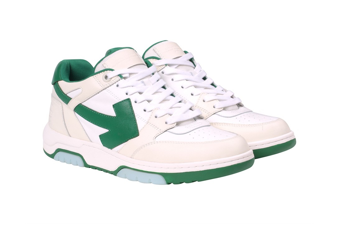 "Off-White ""Out Of Office sneakers. green"