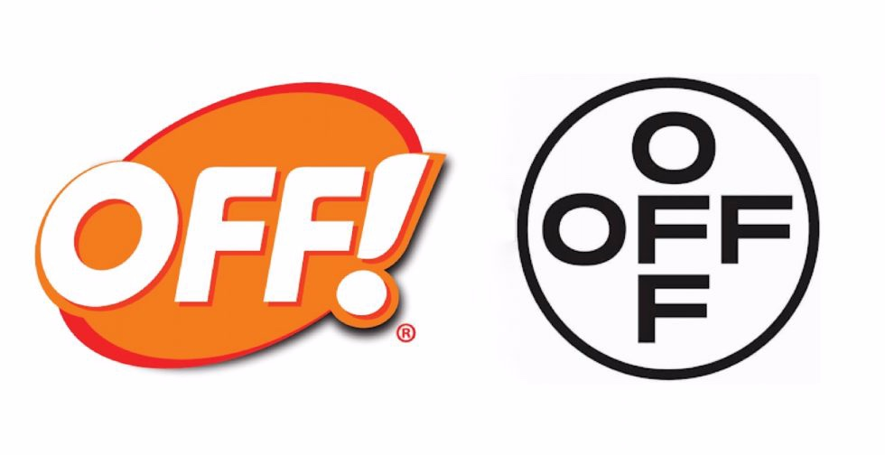 Off-White logo sign