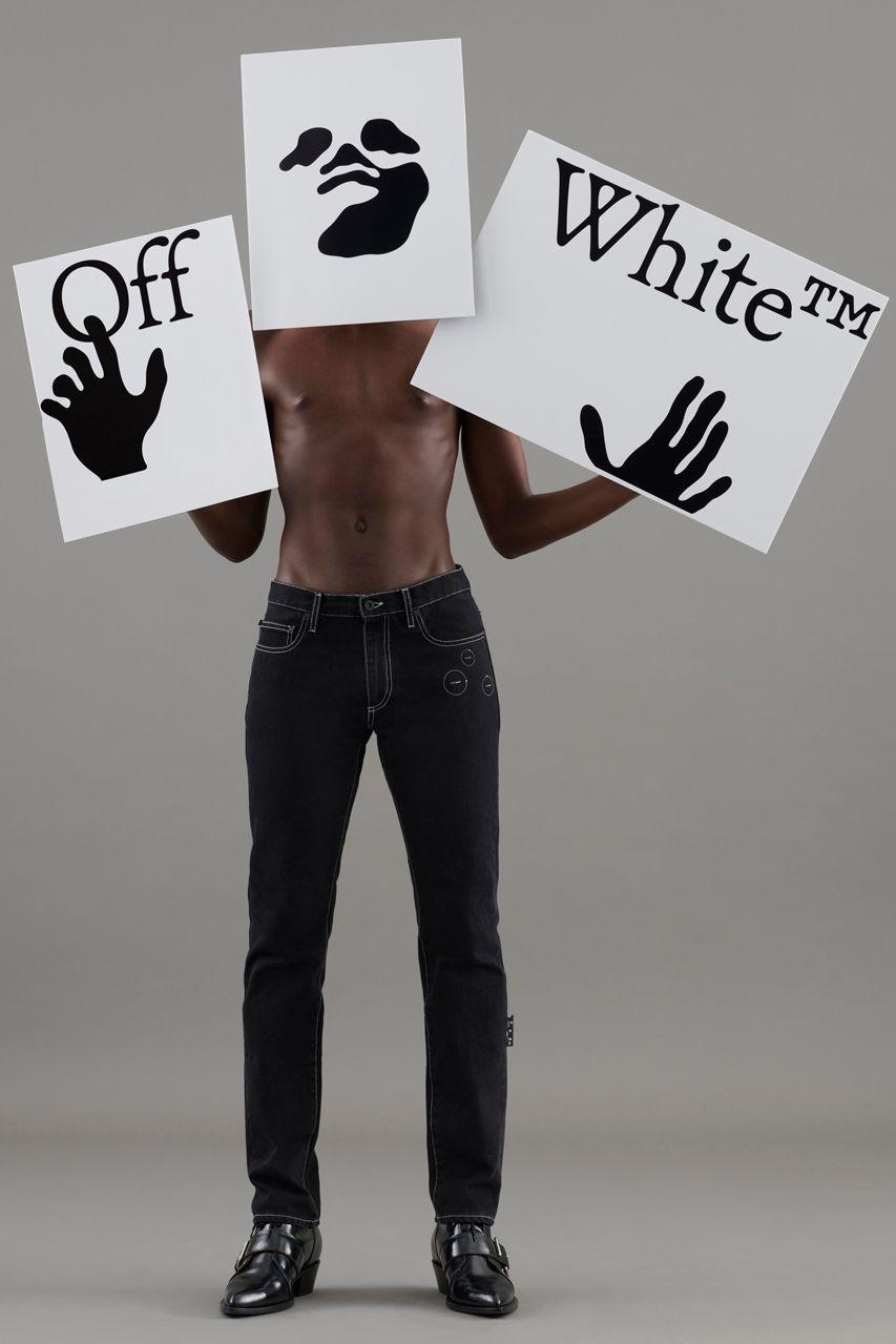 Off-White SS21 logo
