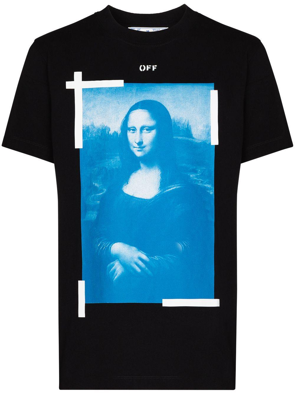 Off-White t-shirt Monalisa