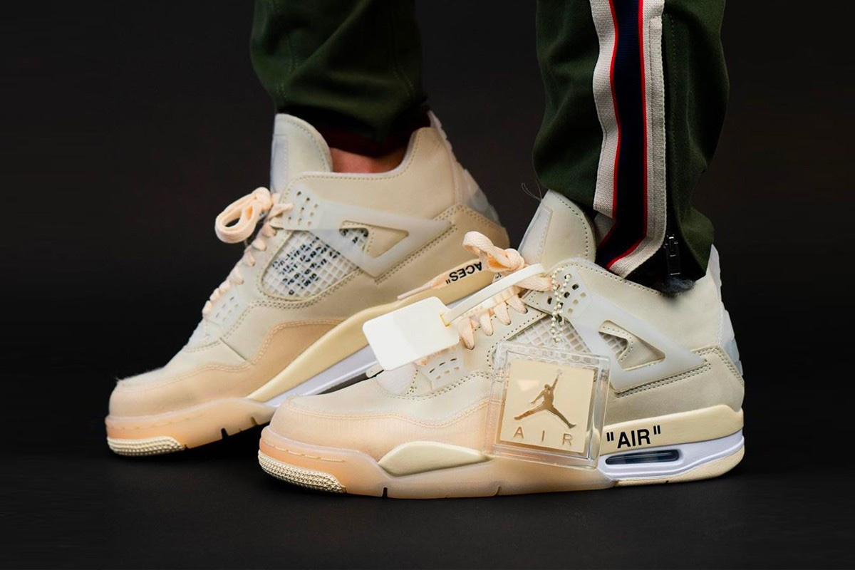 Off-White x Air Jordan 4 Sail