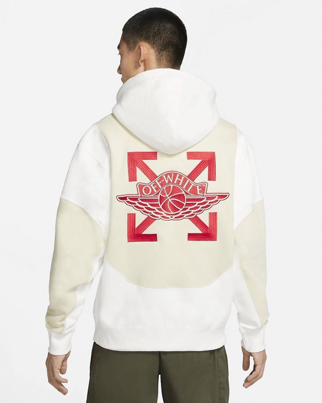 Off-White x Jordan Brand Air Jordan 5 Sail hoodie
