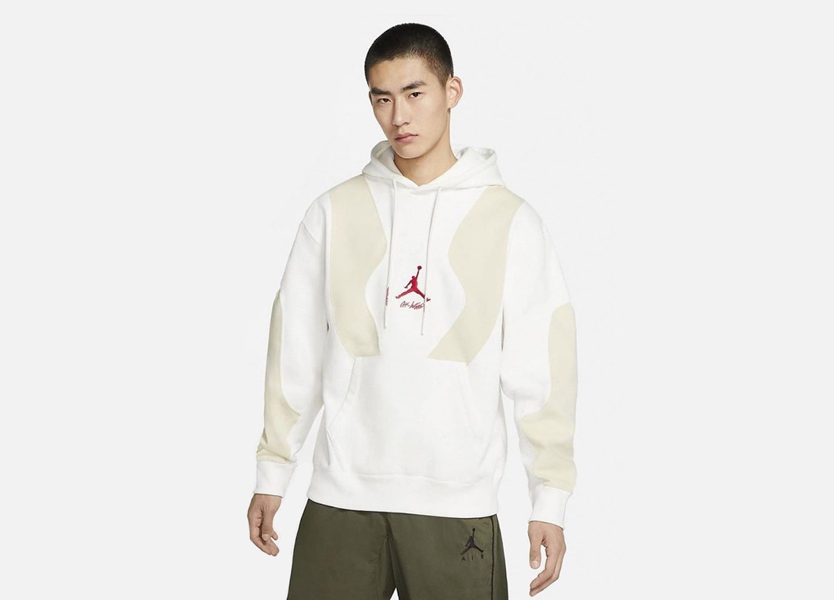 "Off-White x Jordan Brand Air Jordan 5 ""Sail"" hoodie"