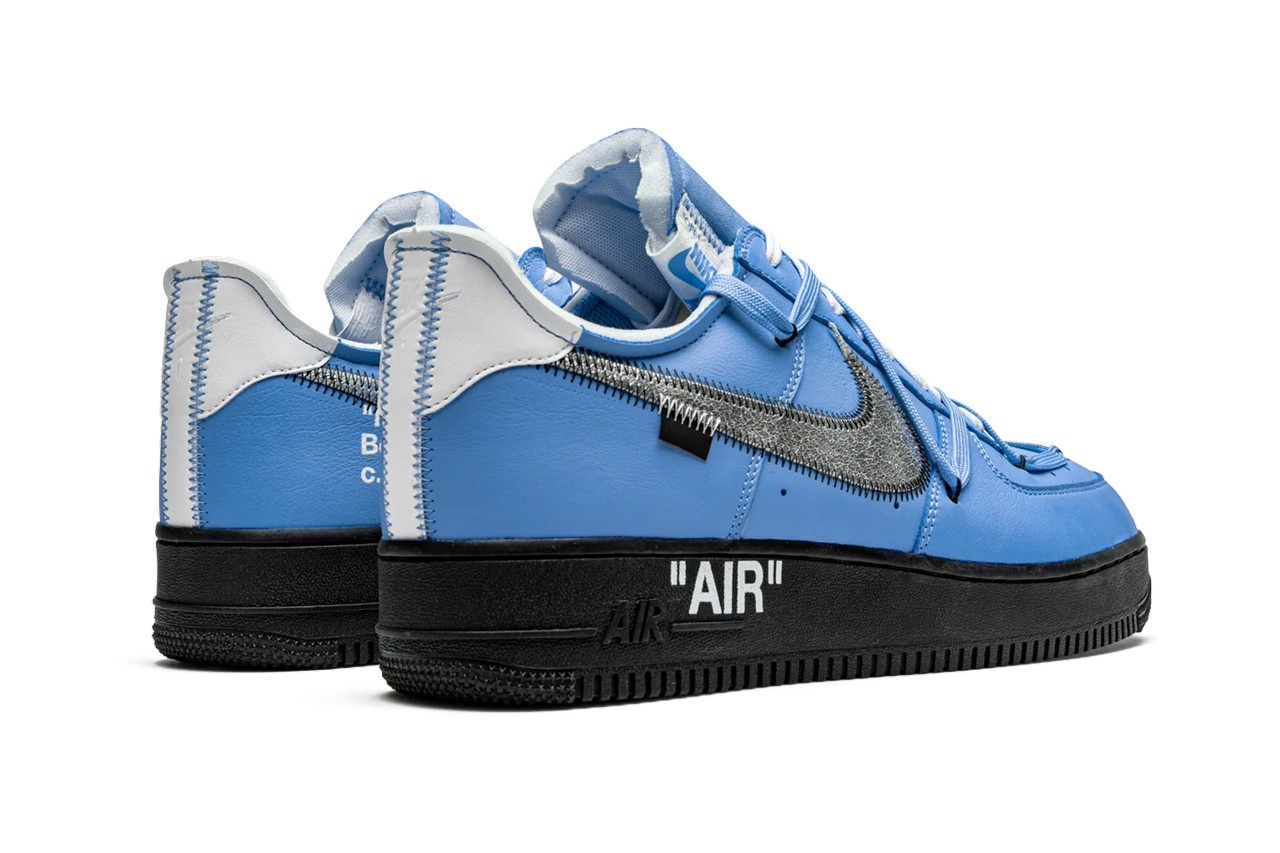 Off-White x Nike Air Force 1 MCA Sample Blu