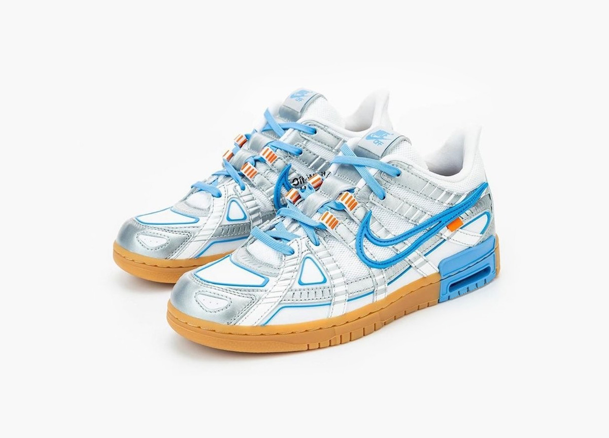 Off-White x Nike Air Rubber Dunk University Blue