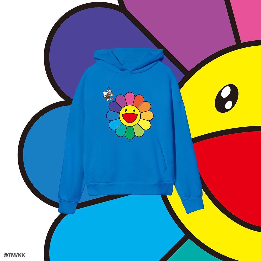PANGAIA x Takashi Murakami hoodie blu