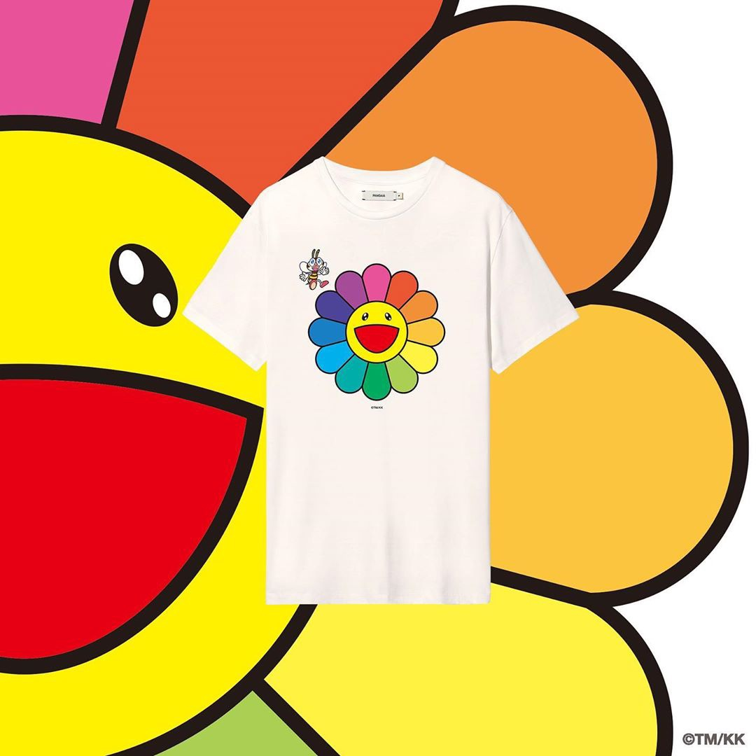 PANGAIA x Takashi Murakami T-shirt