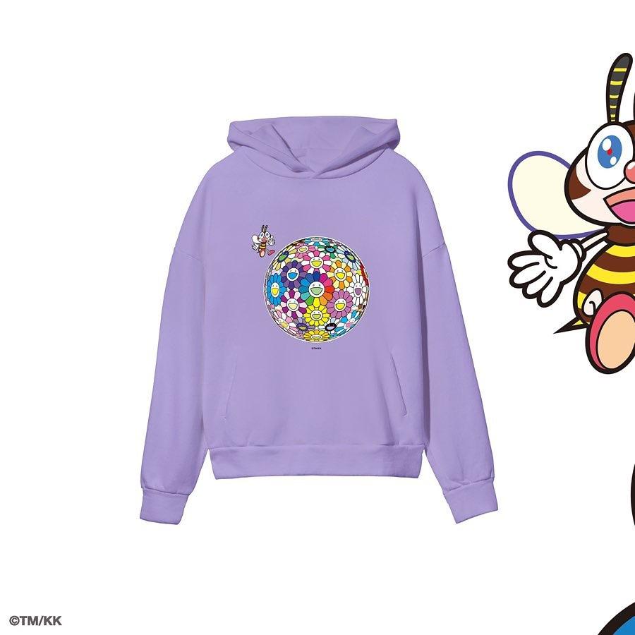 PANGAIA x Takashi Murakami hoodie