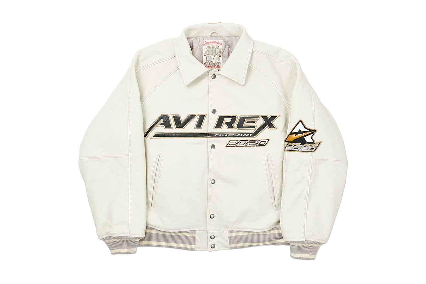 Palace Avirex leather Jackets