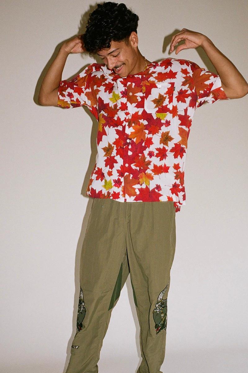 Palace Camicia foglia acero Autumn 2020