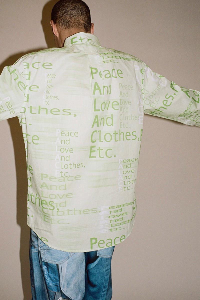 Palace Camicia verde acido 2020
