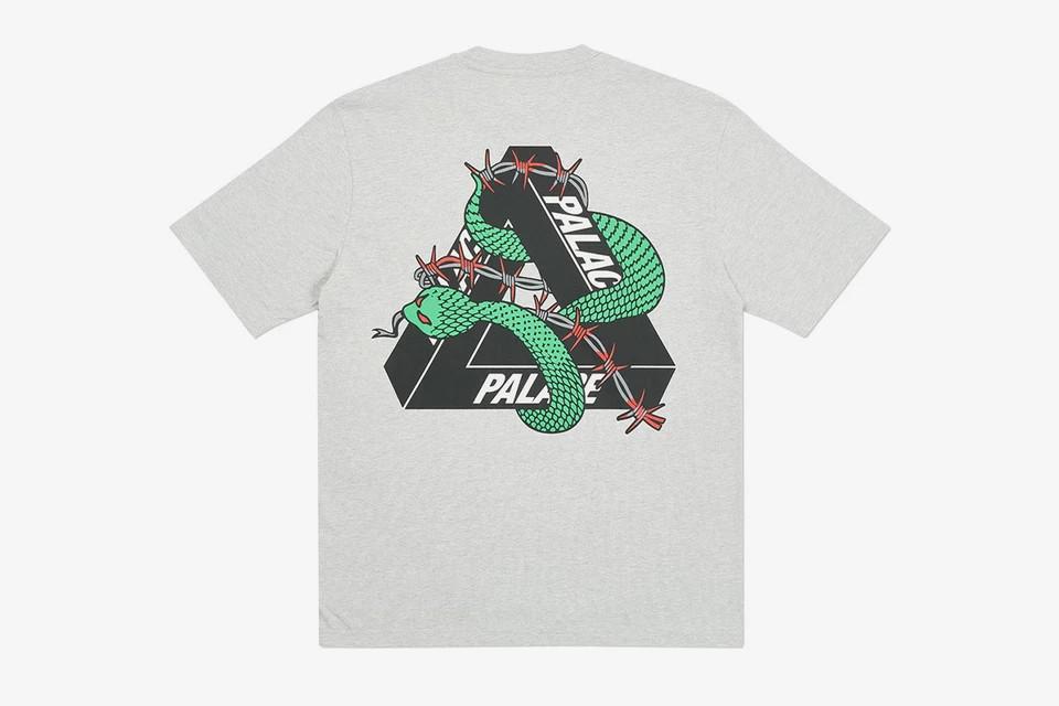 Palace Hesh Mit Fresh Tri-Ferg logo t-shirt