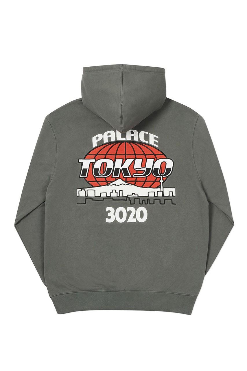 Palace x  New Era hoodie Tokyo