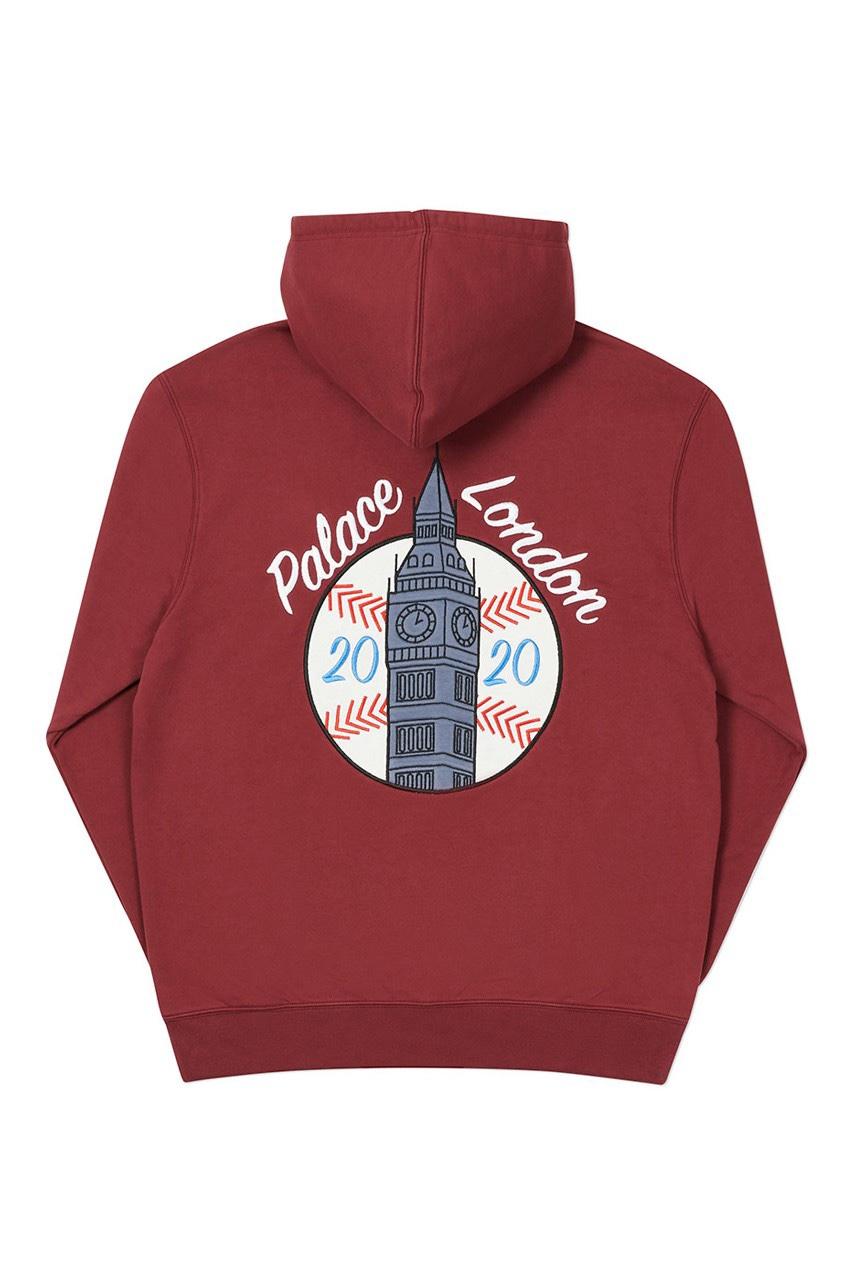 Palace x New Era hoodie London