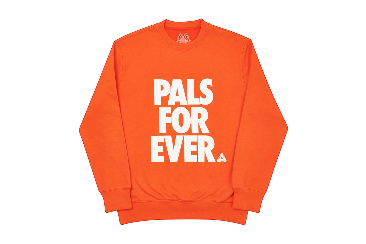 Palace Pals Crew Nike Font Orange PALLS FOR EVER