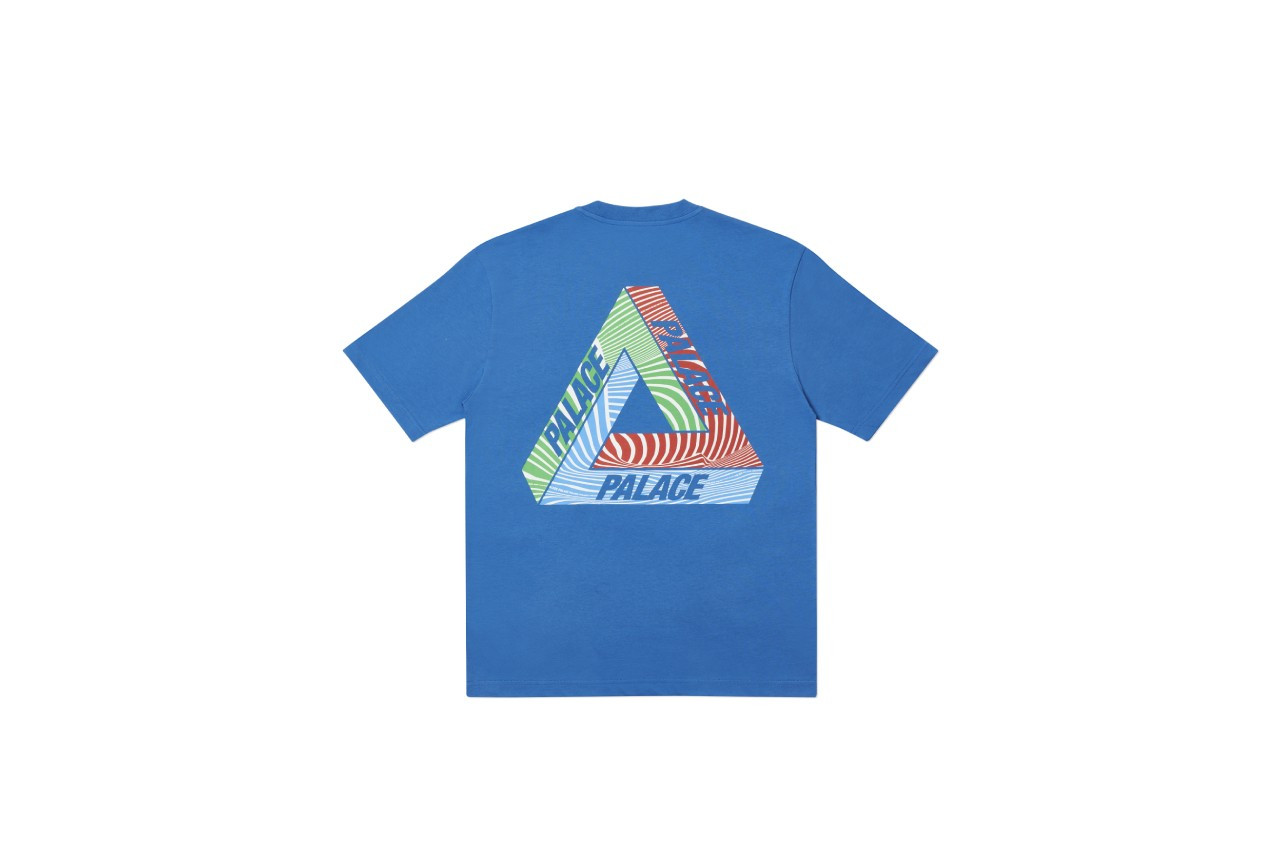 Palace Tri-Tex T-shirts blue