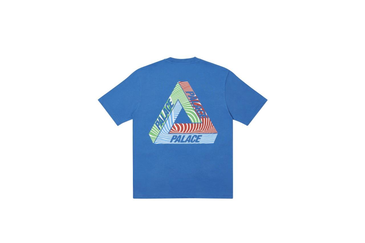 Palace Tri-Tex T-shirts blue