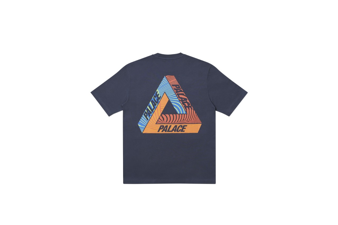 Palace Tri-Tex T-shirts navy