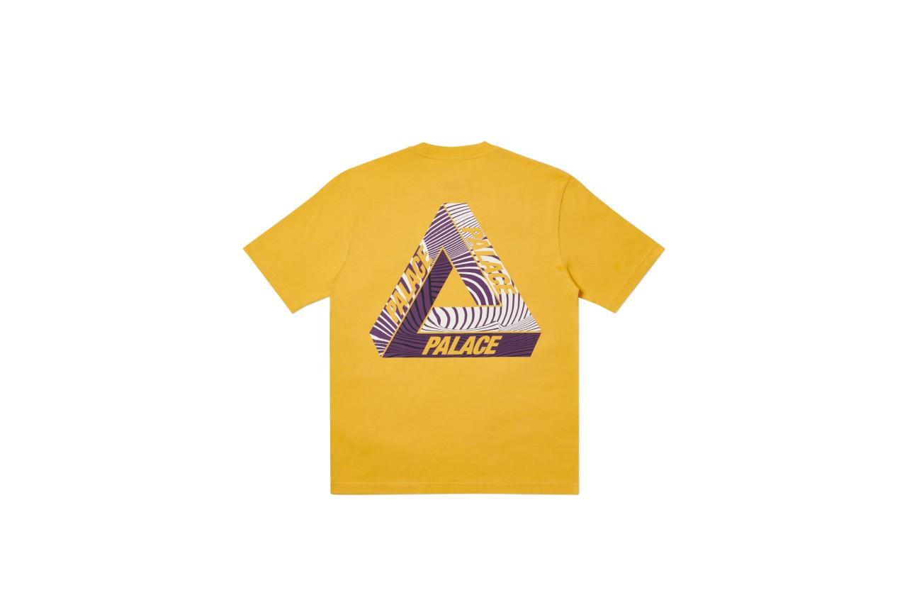 Palace Tri-Tex T-shirts arancione