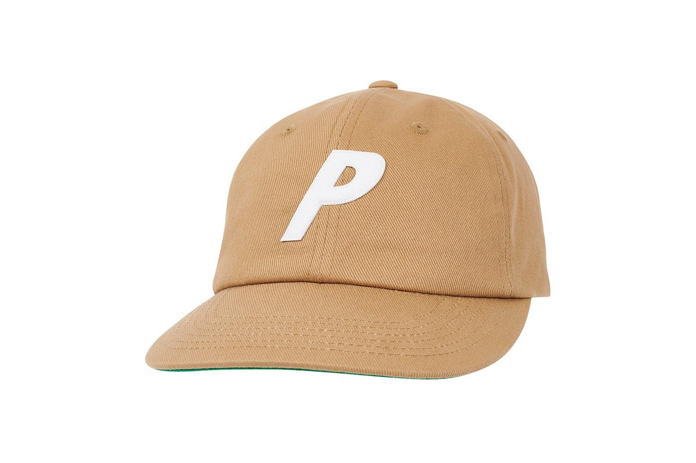 Palace Twill Pal Hat beige logo P
