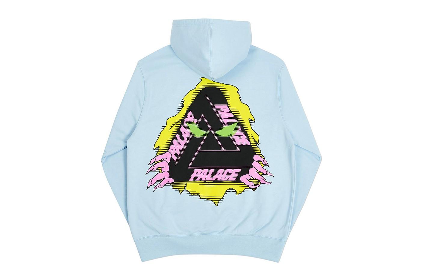 Palace Winter 2020 Tri-Ferg hoodie