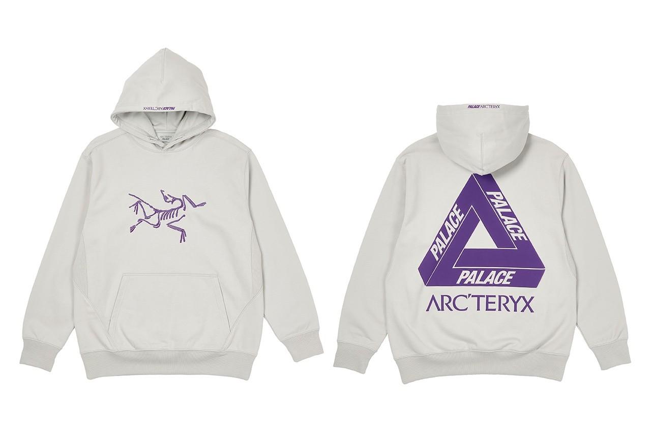 Palace arcteryx hoodie