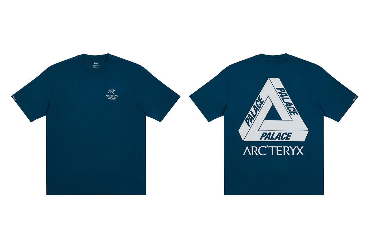 Palace x Arcteryx Tee Teal