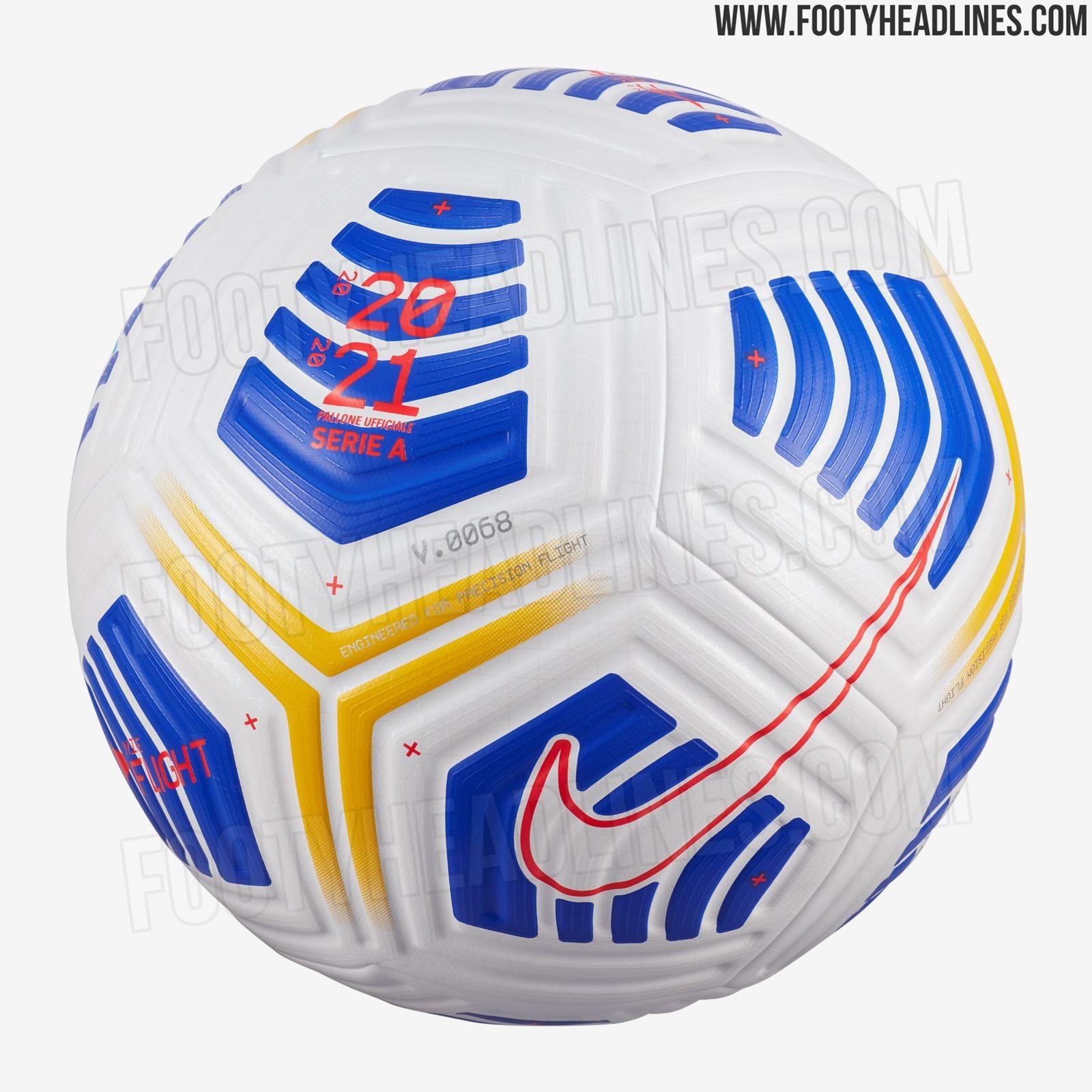 Nuovo Pallone da Calcio Nike Flight Aerowsculpt
