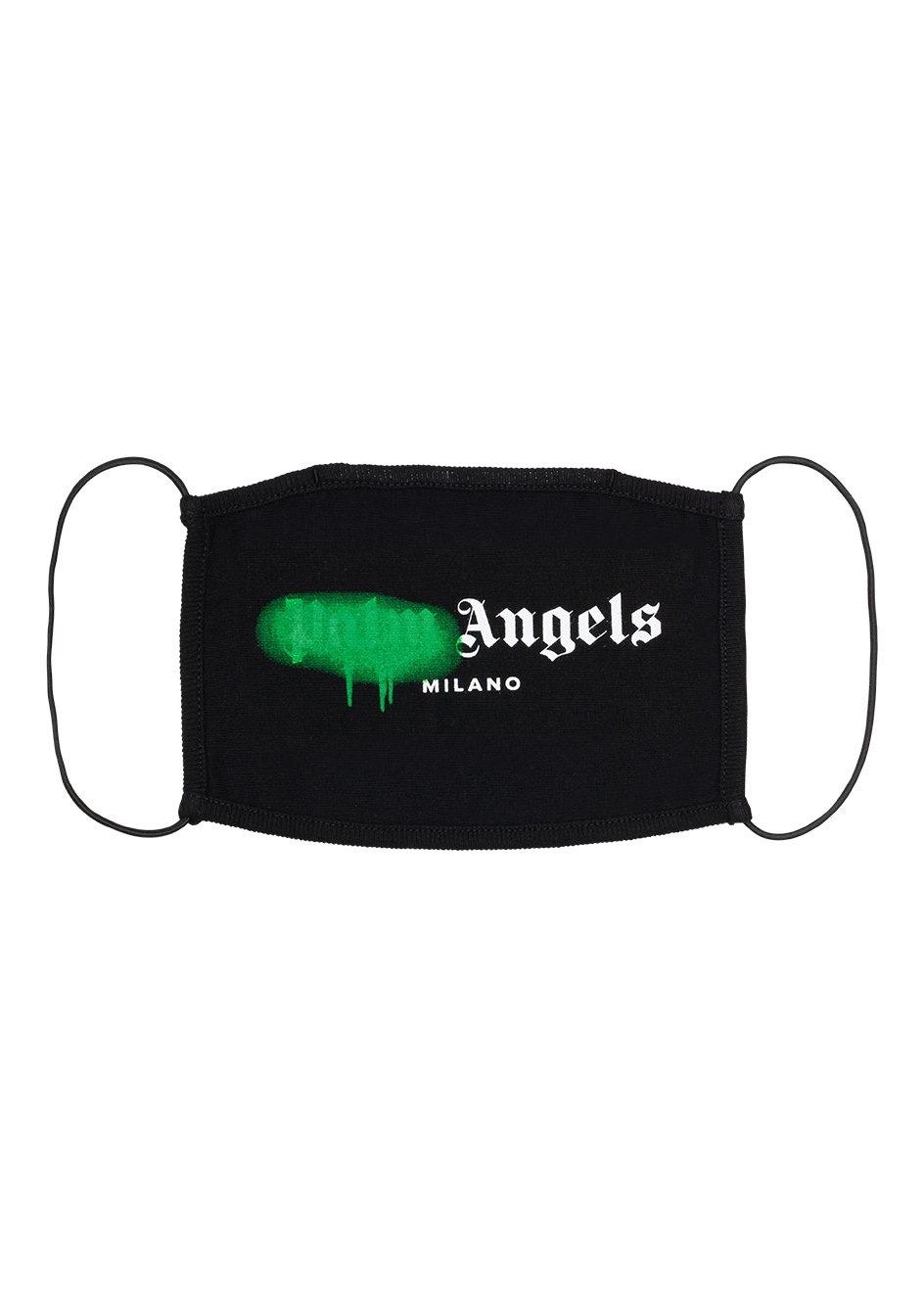 Palm Angels Face Mask macchia verde