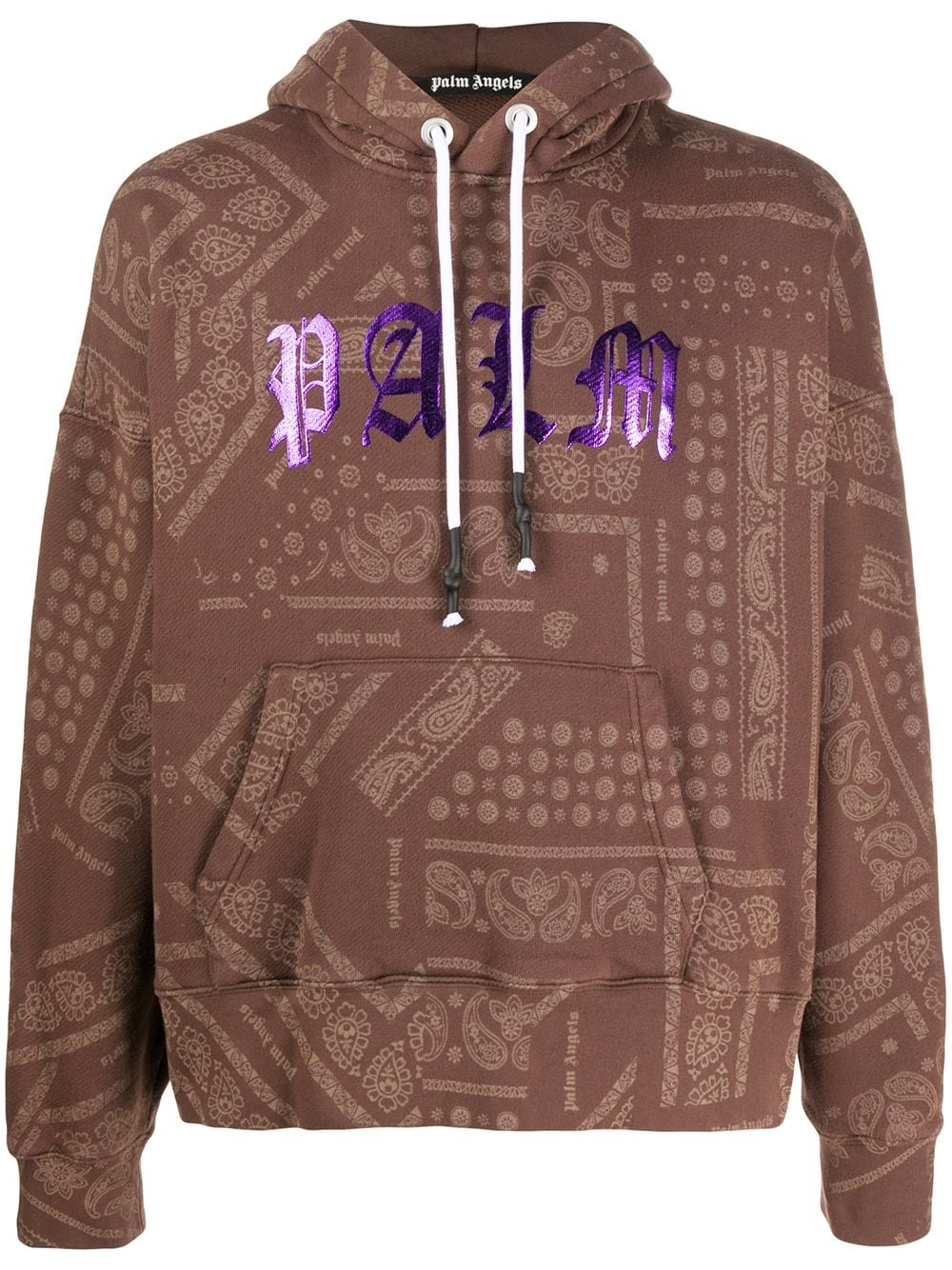 Palm Angels hoodie paisley