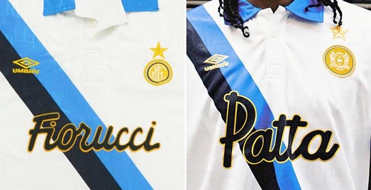 Patta Umbro Inter jersey